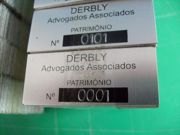 Placa de Patrimônio Rio de Janeiro RJ