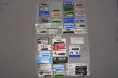Placas para equipamentos