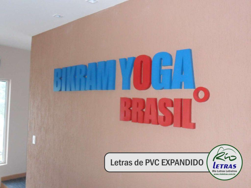 Letras de PVC EXPANDIDO